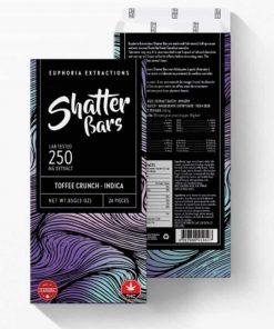 shatter bar 250mg indica